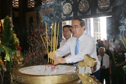 胡志明市举行西贡-堤岸-嘉定革命传统见面会 hinh anh 2