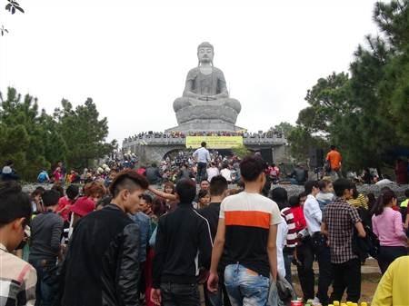 越南北宁省佛迹寺庙会开庙迎客 hinh anh 2
