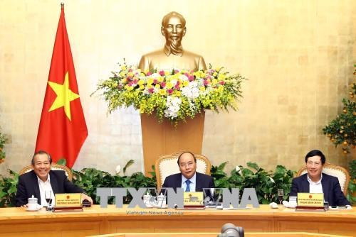 政府总理阮春福:新年伊始就激发农民和企业的生产积极性 hinh anh 1