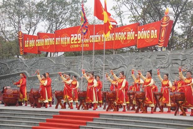 纪念玉回—栋多大捷229周年文艺晚会在胡志明市举行 hinh anh 1