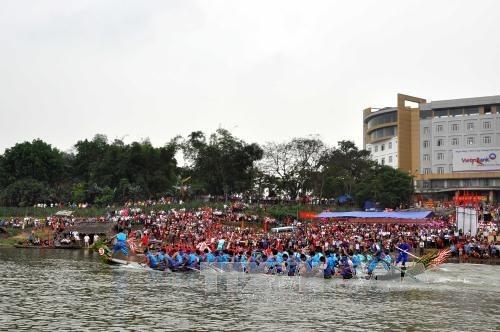 越南各地陆续举行春季庙会和迎春活动 hinh anh 4