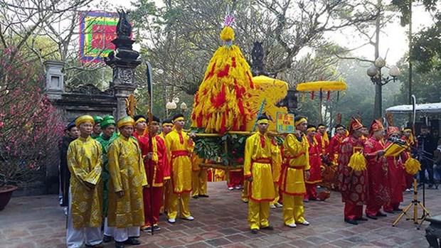 越南各地陆续举行春季庙会和迎春活动 hinh anh 2