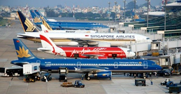 春节之前越南各家航空公司航班正点率较高 hinh anh 1