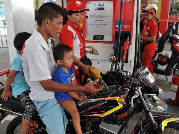 2018年1月份油价上涨帮助印尼缩小财政赤字 hinh anh 1