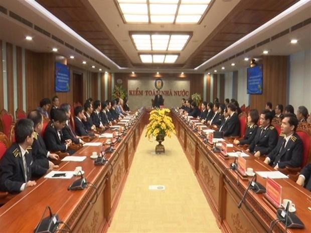 越南国会副主席冯国显看望慰问国家审计署干部职工并拜年 hinh anh 1