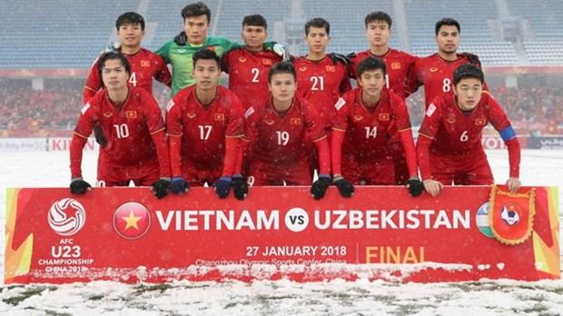 2018戊戌年越南足球的三项重要目标 hinh anh 1