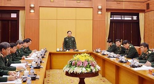 吴春历大将走访越南人民军总政治局和总后勤局 hinh anh 1