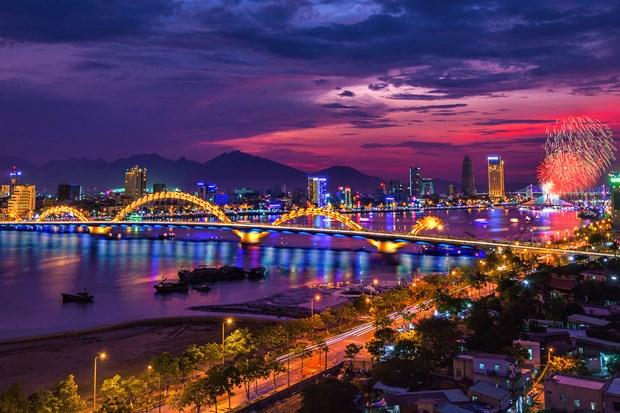 """岘港市接待游客30万人次 成新春游""""开门红"""" hinh anh 1"""
