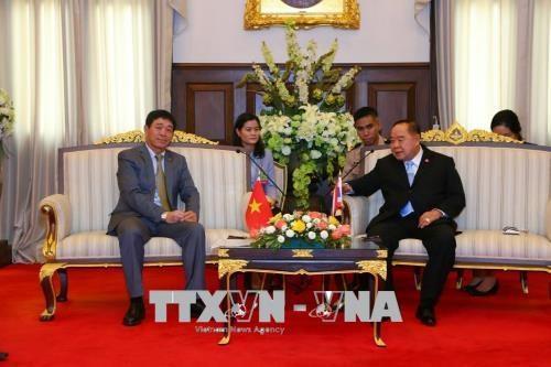 泰国承诺将继续同越南加深国防安全领域的合作 hinh anh 1