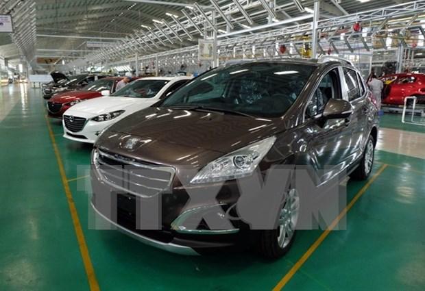 2018年1月份越南汽车销量较去年同期增长28% hinh anh 1