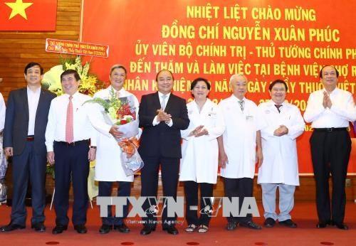越南医师节:政府总理阮春福向全国医务人员队伍致以节日祝福 hinh anh 3