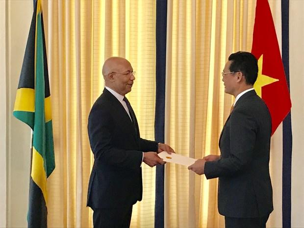 牙买加领导人愿推动牙越关系不断发展 hinh anh 1
