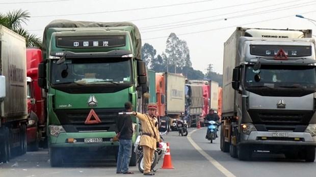 越南谅山省新青口岸每日农产品出口量逾4000吨 hinh anh 1