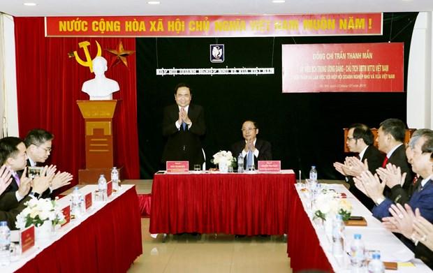 陈青敏:建立学习型社会 为企业发展接力 hinh anh 2