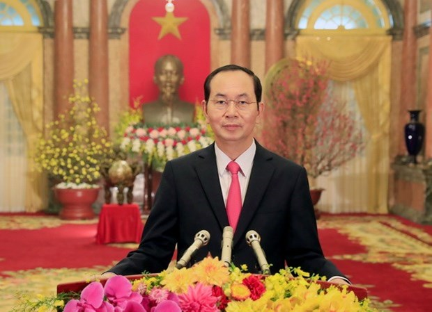 越南国家主席陈大光和夫人即将对印度和孟加拉国进行国事访问 hinh anh 1