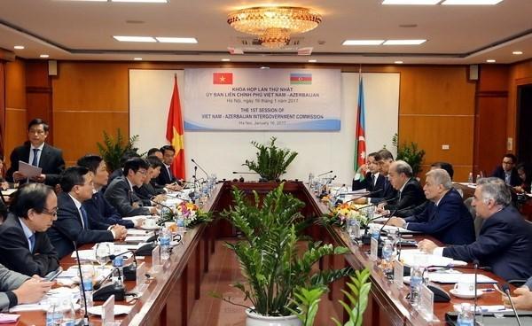 越南与阿塞拜疆加强合作 hinh anh 1