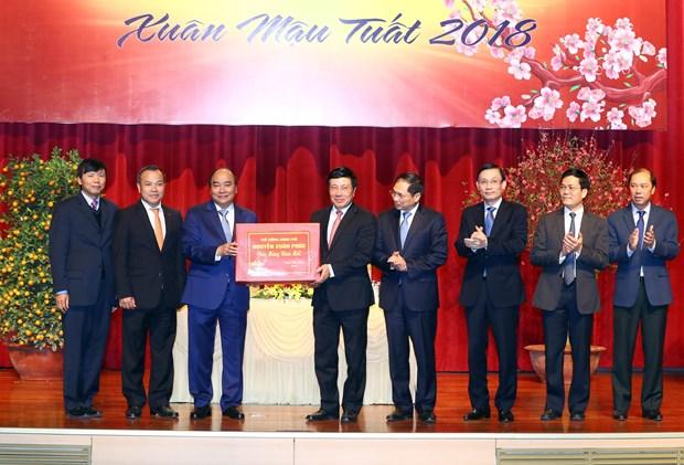 阮春福总理:外交部需为促进和推动经济和贸易活动发展做出不懈努力 hinh anh 1