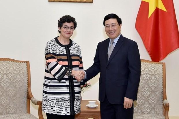 范平明:希望国际贸易中心帮助越南制定政策 使企业更深地参与全球价值链 hinh anh 1