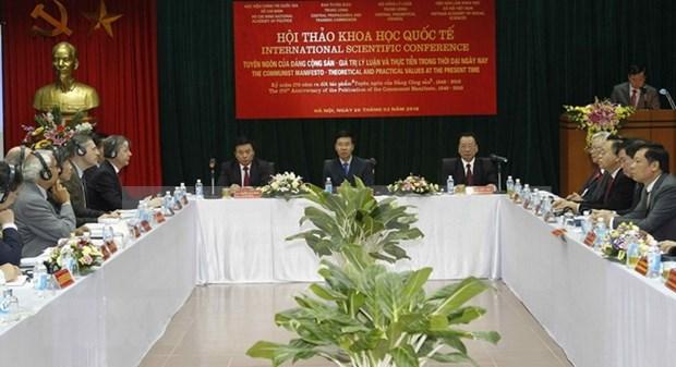 共产党宣言—当今时代的理论和实践价值 hinh anh 1
