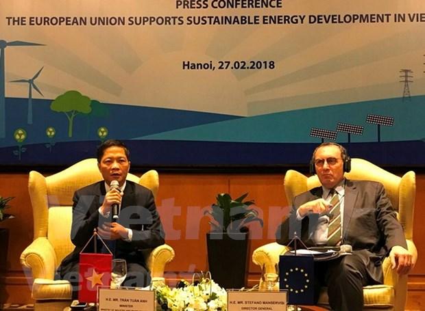 欧盟为越南提升农村地区电力供应能力提供1.08亿欧元援助 hinh anh 1