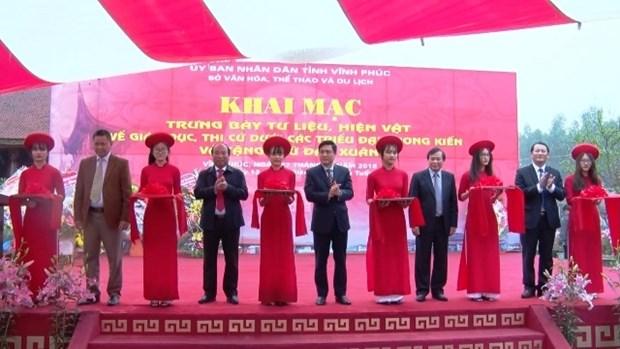 越南封建社会教育文献展在永福省举行 hinh anh 1