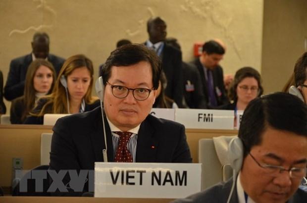 越南主持关于信息技术在推动经济、文化与社会权利作用的座谈会 hinh anh 1