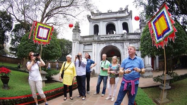 2018年2月份 越南国际游客到访量同比增长19.4% hinh anh 1