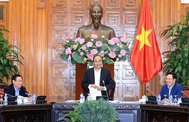 政府总理阮春福:促进基础设施发展 提高人民生活水平 hinh anh 1