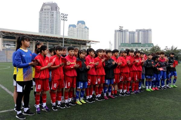 FIFA选择越南足协参加青年女足及青年女足比赛发展项目 hinh anh 1
