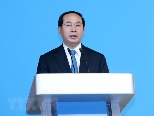 印度媒体:越南国家主席陈大光的访印有助于促进双边贸易合作关系 hinh anh 1