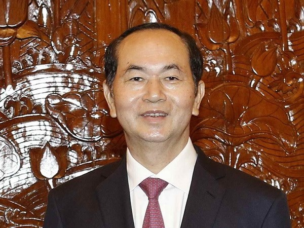 国家主席陈大光:印度是越南十大贸易伙伴之一 hinh anh 1