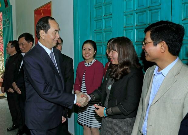 陈大光与中央司法改革指导委员会办公厅举行工作会谈 hinh anh 2