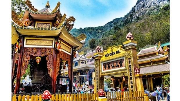 西宁省黑婆山国家级旅游区春节期间迎来第100万名游客 hinh anh 1