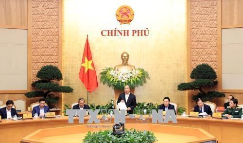 政府总理阮春福:2018年第一季度较去年出现更多积极信号 hinh anh 1