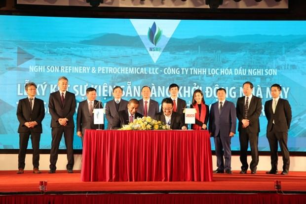 越南清化省宜山炼化综合体项目正式启动 hinh anh 1