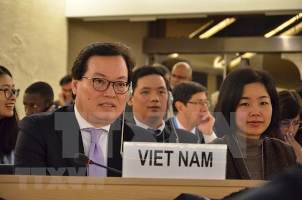 越南不断努力确保所有人均能充分享受人权 hinh anh 1