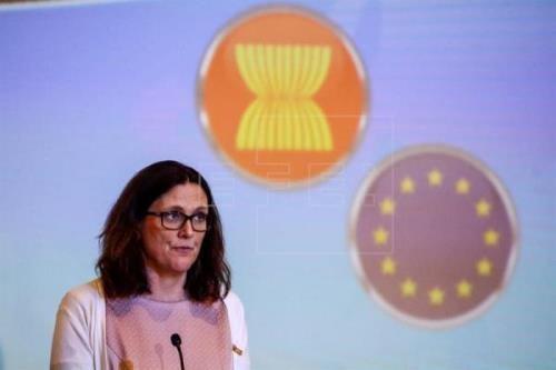 东盟-欧盟自由贸易协定将于今年底获批 hinh anh 1