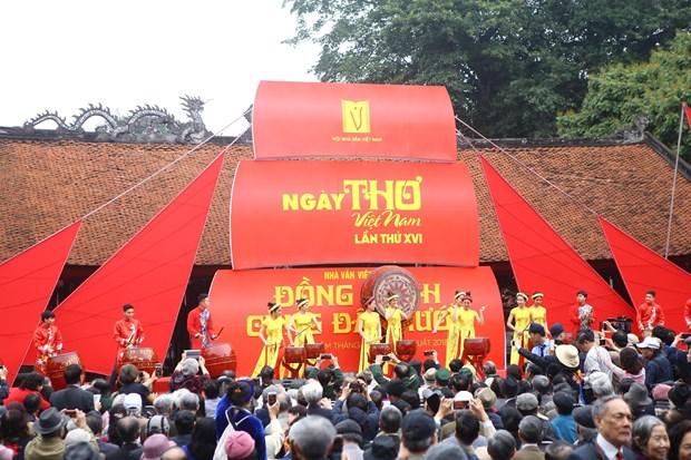 第十六届越南诗歌日活动开幕 hinh anh 1