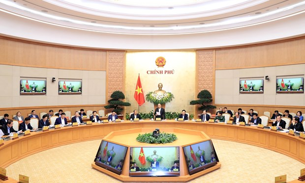 政府总理阮春福:制定关于每个行业、领域和产品的增长情景 hinh anh 1