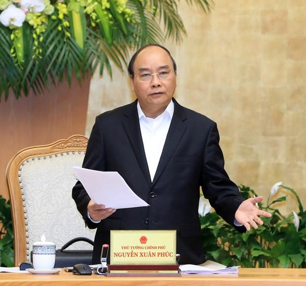 政府总理阮春福:制定关于每个行业、领域和产品的增长情景 hinh anh 2