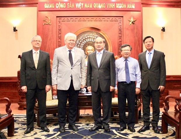 胡志明市加强与德国各大学的合作 hinh anh 2
