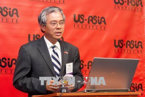 越南驻美国大使范光荣高度评价美国与东盟的合作关系 hinh anh 1
