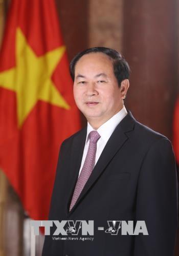 越南国家主席陈大光对孟加拉国进行国事访问 hinh anh 1