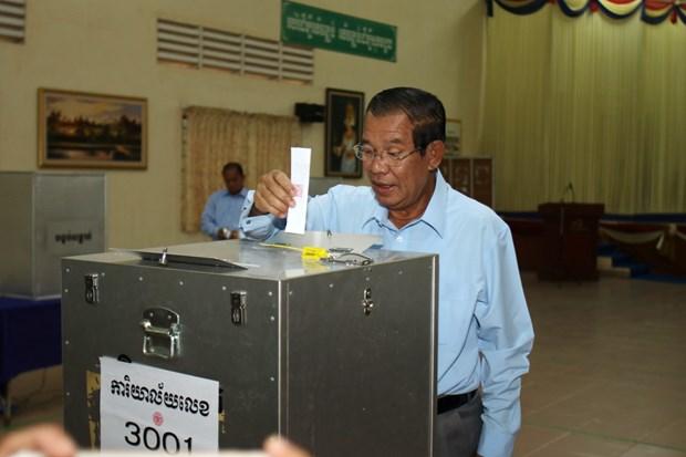 柬埔寨第四届参议院选举结果正式公布 人民党赢得全部议席 hinh anh 1