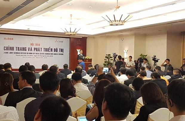 日本企业希望参与胡志明市城市面貌改观与发展工作 hinh anh 1