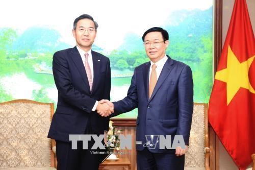 王廷惠:日本三井住友银行为外国投资商对越进行投资搭建桥梁 hinh anh 1