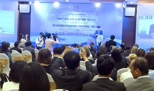 2018年越南世界水周: 合作可持续发展水资源 hinh anh 1