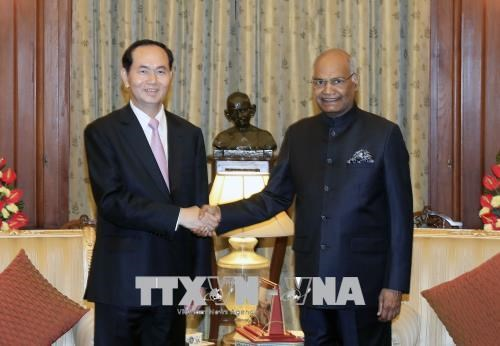 越南国家主席陈大光圆满结束对印孟两国访问之旅 hinh anh 1