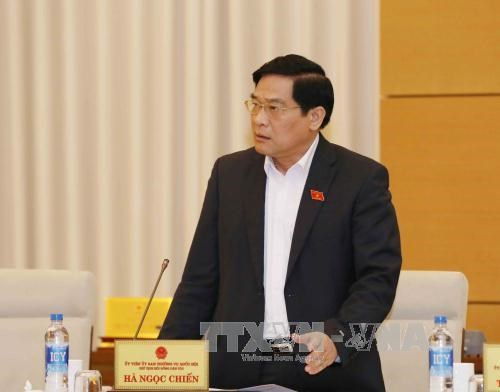 加强越老两国国会民族委员会的合作 hinh anh 1