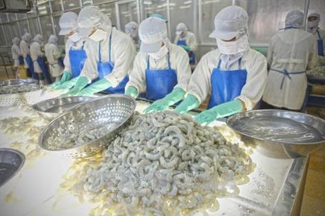 今年前两月安江省出口额同比增长5.62% hinh anh 1